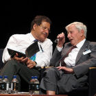 Nobel Prize winners Ahmed Zewail and Nicolaas Bloembergen